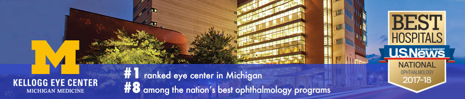 U-M Kellogg Eye Center is #9 among the nation's best ophthalmology programs